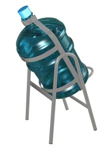 Подставка для 1-го бутыля, доставка питьевой воды в Одинцово, бесплатно,купить кулер, офис, бутилированная, бутыль 19 л