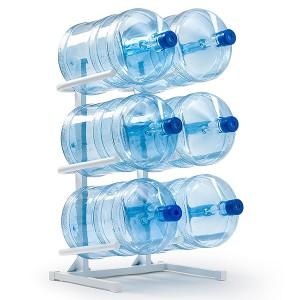 Подставка для 6-ти бутылей,  доставка питьевой воды в Одинцово, бесплатно,купить кулер, офис, бутилированная, бутыль 19 л