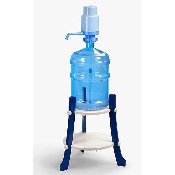 Подставка пластиковая Долфин, доставка питьевой воды в Одинцово, бесплатно,купить кулер, офис, бутилированная, бутыль 19 л