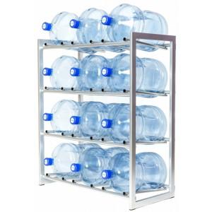 Стеллаж для 12-ти бутылей, доставка питьевой воды в Одинцово, бесплатно,купить кулер, офис, бутилированная, бутыль 19 л