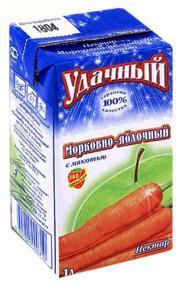 нектар морковно-яблочный с мякотью