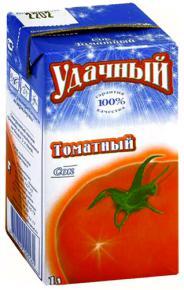 Сок «Удачный» томатный
