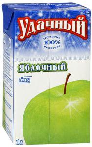 Сок «Удачный» яблочный