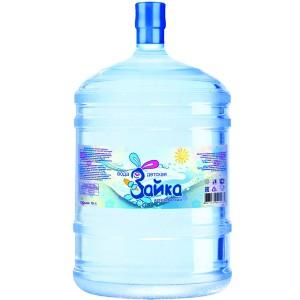 Вода артезианская высшей категории «Зайка» детская